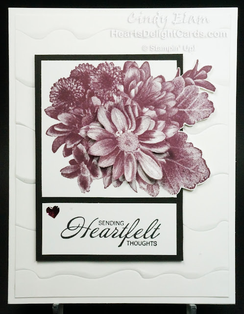 Heartfelt Blooms, SAB, Sale-A-Bration 2018, Stampin' Up!, Thinking of You, Sympathy