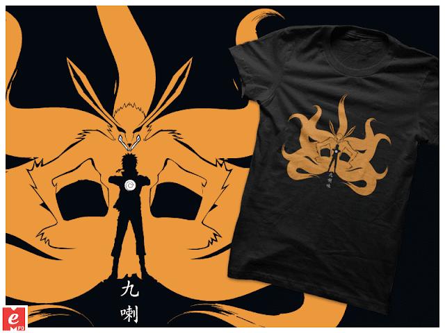 Naruto_Kyubi+tshirt+buy+online+cool