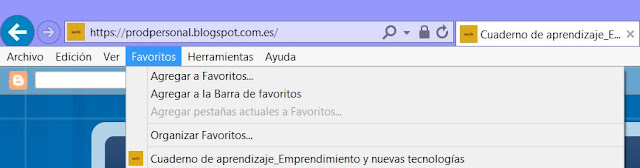 Favicon en IE