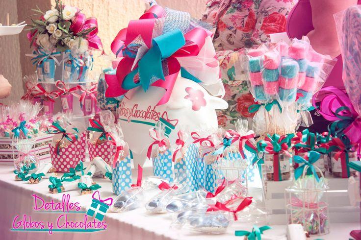 28 ideas para decorar mesas de dulces de todo tipo - Ideas para decorar una mesa ...