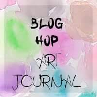Blog Hop Art Journal