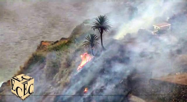 Alerta riesgo Incendio Forestal Canarias 14 julio
