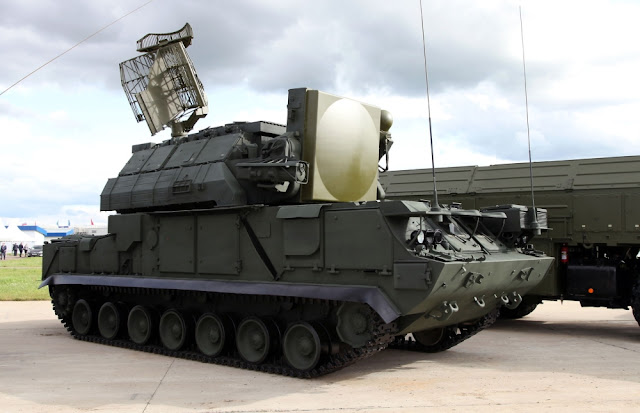 Image Attribute:  Tor M-1 Missile System