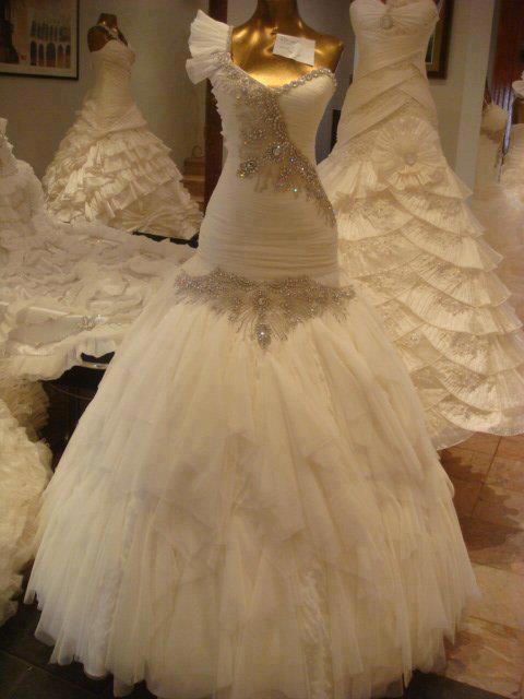 Gem Stones Wedding Dresses