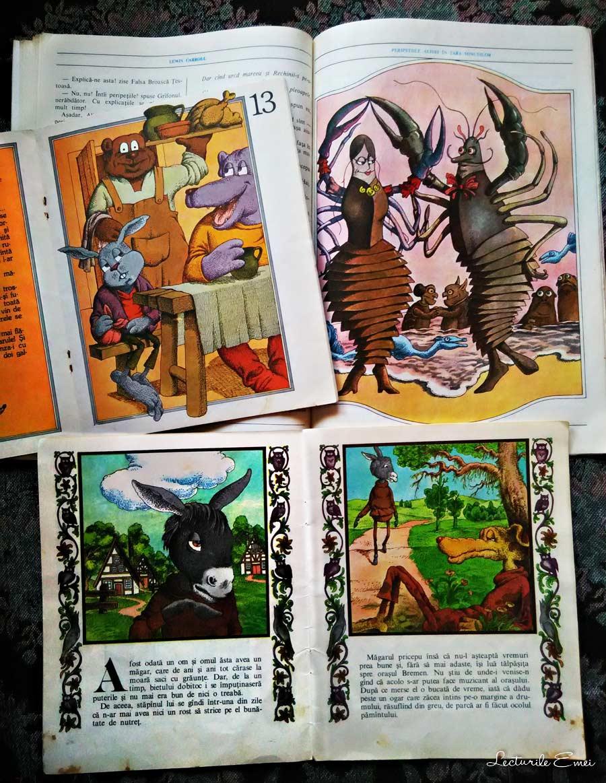 carti ilustratii de Vasile Olac
