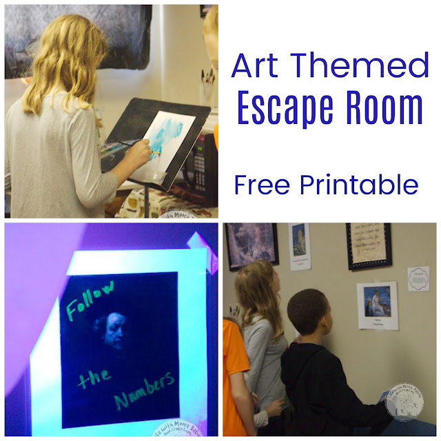 Group Learning and Critical Thinking in an Art Themed Escape Room