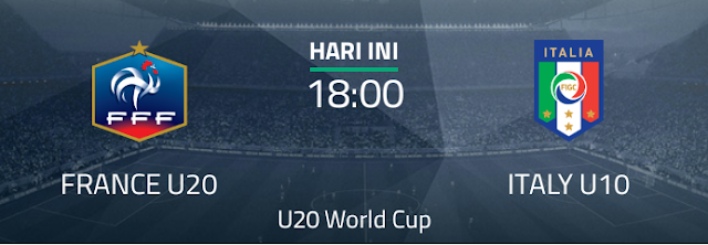 Perancis U20 vs Italia U20