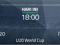Streaming Perancis U20 vs Italia U20, 1 Juni 2017