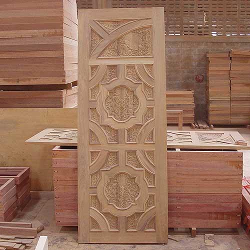 New kerala style Front Door wooden door design - Wood ...