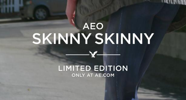 4a6f71097c ... the link to American Eagles product page for the Skinny Skinny jeans  you will get your option of two spray on body paints