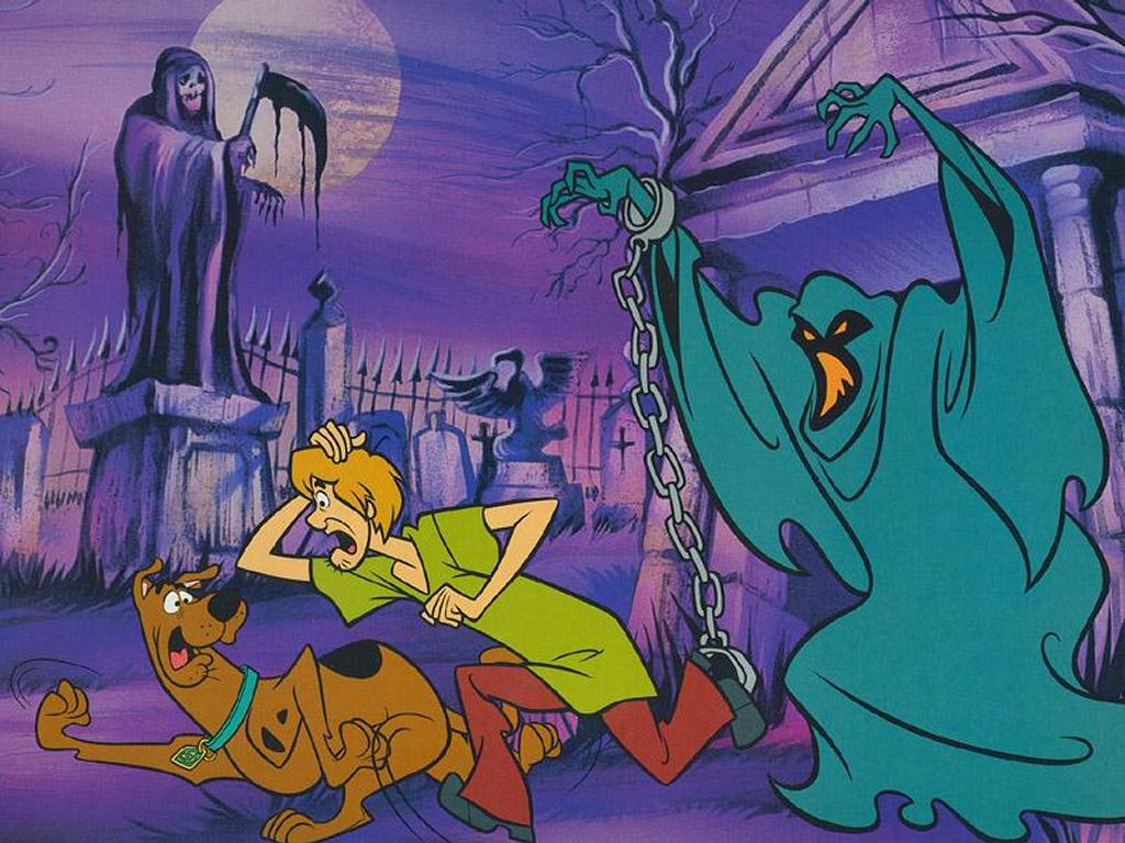 American top cartoons: Scooby doo wallpaper