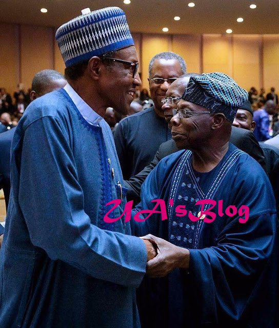 Watch Video...REVEALED: What Actually Happened When Obasanjo, Buhari Met At Ethiopia, What They Discussed