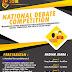Formulir Pendaftaran National Debate Competition