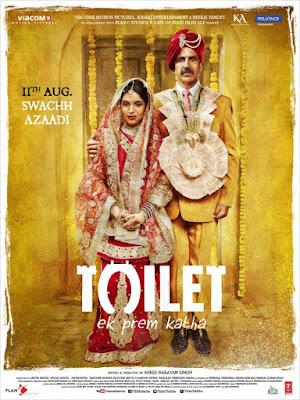 Toilet Ek Prem Katha 2017 Hindi Pre-DVDRip 700Mb (Deflickered Audio Cleaned) BEST