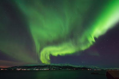 Aurora Boreal sobre Reikiavik