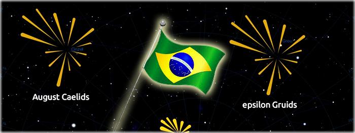 brasileiros descobrem chuvas de meteoros