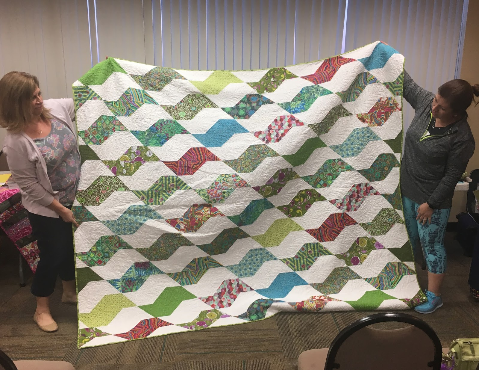 Modern quilt bedding - Another Fantastic Show N Tell At The San Antonio Modern Quilt Guild Check Our Our Members Projects