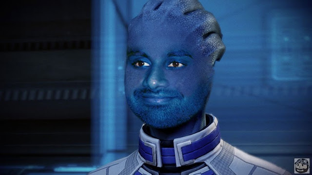 Accidentally googled Mass effect ansari instead of asari. Wasn't dissapointed.