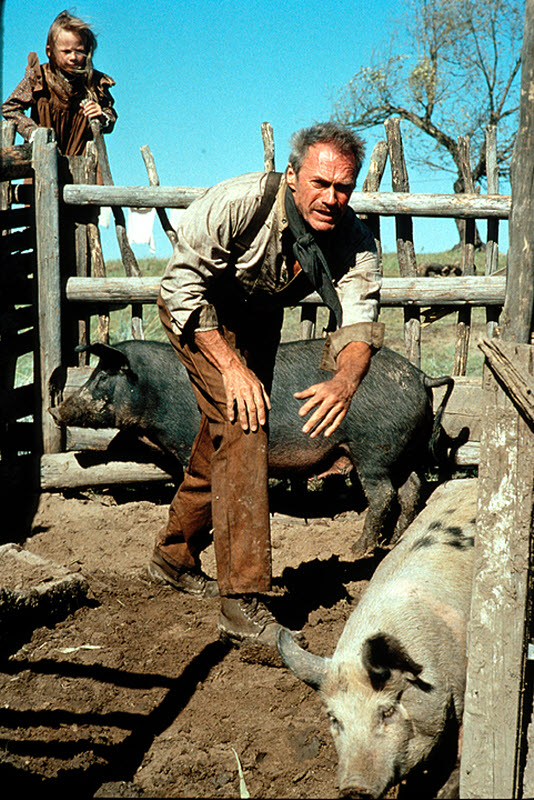 Bill Munny Clint Eastwood Unforgiven 1992 movieloversreviews.filminspector.com.com