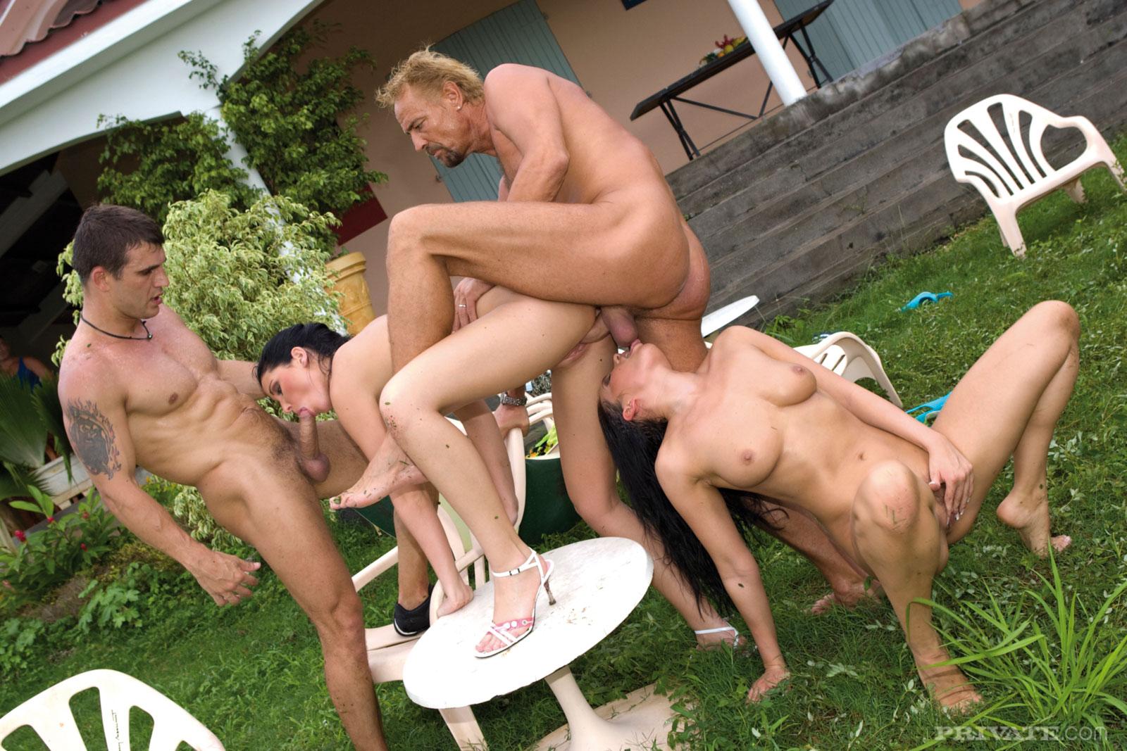 Crazy Outdoor Sex 119