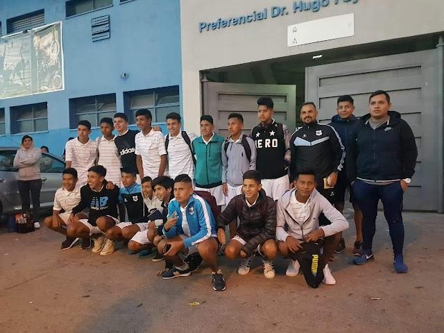 El Lobito partió rumbo a Bolivia para disputar el Mundialito Paz y Unidad 2018