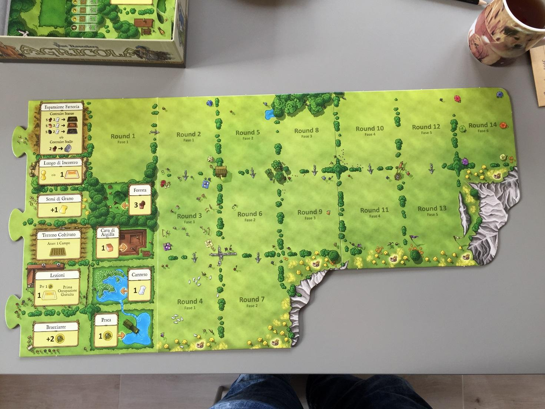 GIALLO Lettore di espansione AGRICOLA Gioco Da Tavolo