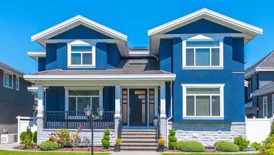 gambar warna cat depan rumah yang elegan terbaru