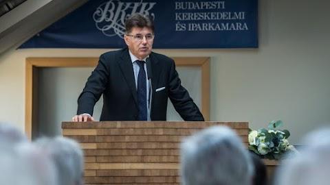 Újraválasztották Nagy Eleket, a Budapesti Kereskedelmi és Iparkamara korábbi elnökét