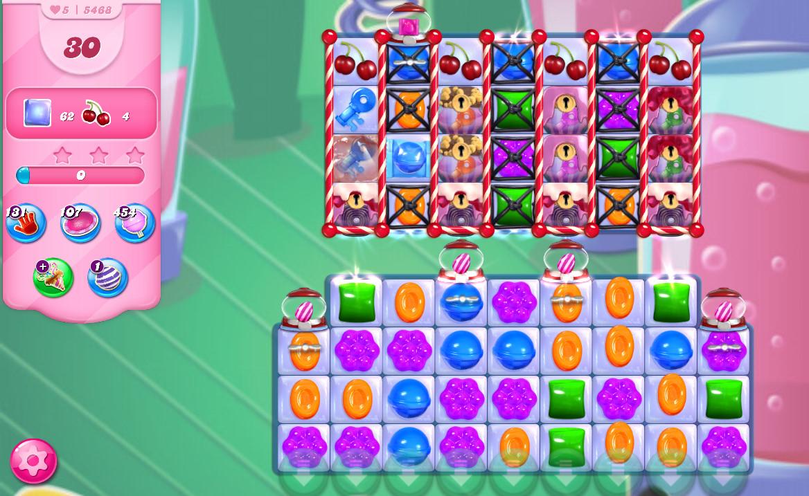 Candy Crush Saga level 5468