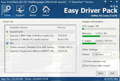 drivers pack for windows 7