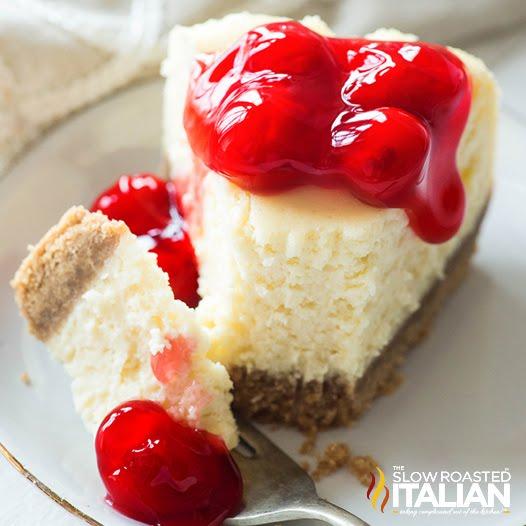Best Ever Crockpot Cheesecake