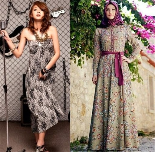 Inspirasi Dress Muslimah Modern Terbaru Jual Baju Brokat