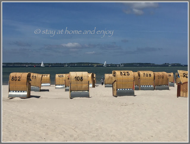 Laboe - Strand - stay at home and enjoy