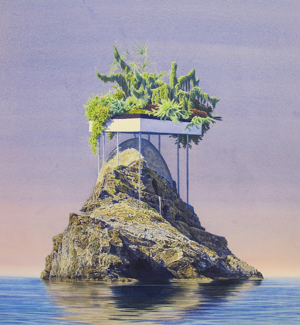 Japanese Sci Fi Art Iso50 Blog: Artodyssey: Tristram Lansdowne