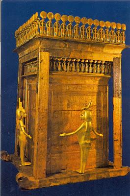 Kuala Skylab Egypt Art Postcard Tutankhamen 180 S Treasures