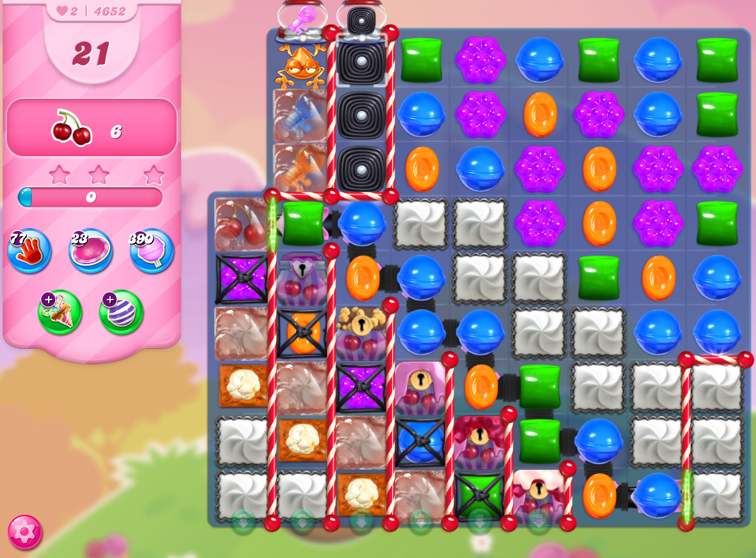 Candy Crush Saga level 4652