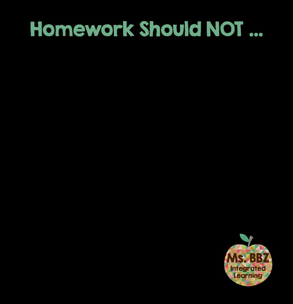 Should i just not do my homework