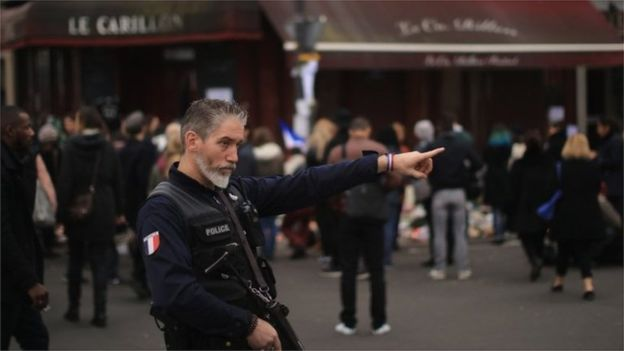 Thousands of extra police and troops have been deployed in Paris