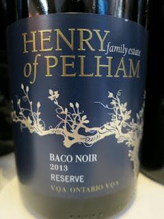 Henry of Pelham Reserve Baco Noir 2013 - VQA Ontario, Canada (90 pts)