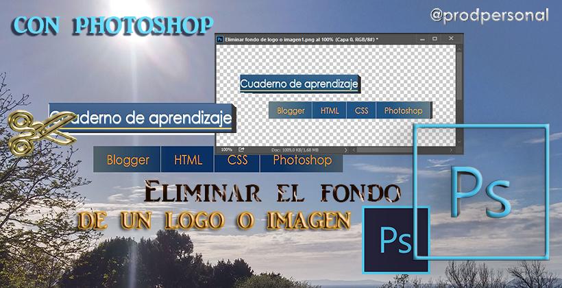 Eliminar el fondo de un logo o imagen