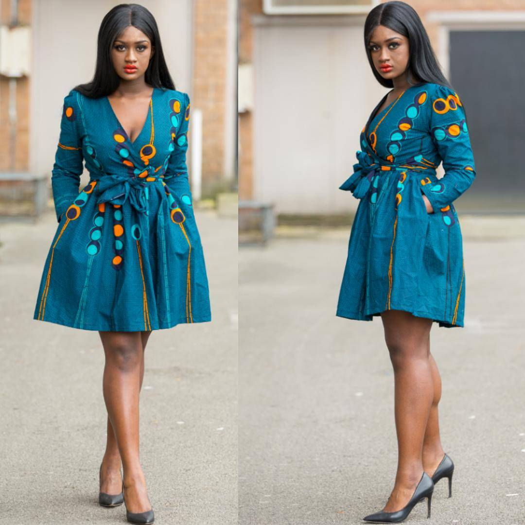 Fashion Trends: Stylish Ankara Short Dresses for Ladies - OD9jastyles.com