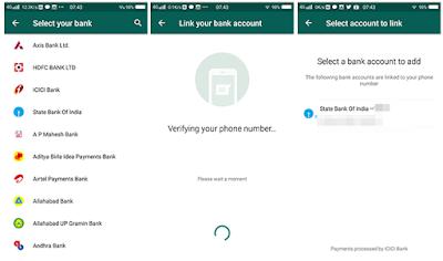 Cara mengatur UPI dan Bayar Melalui WhatsApp