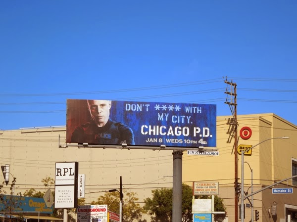 Chicago PD season 1 billboard