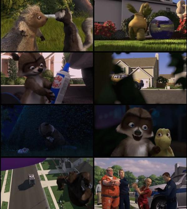 Over The Hedge 2006 Dual Audio Hindi BluRay 720p