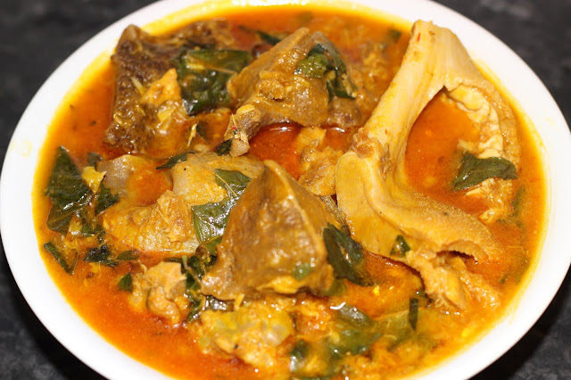 How to make Oha soup