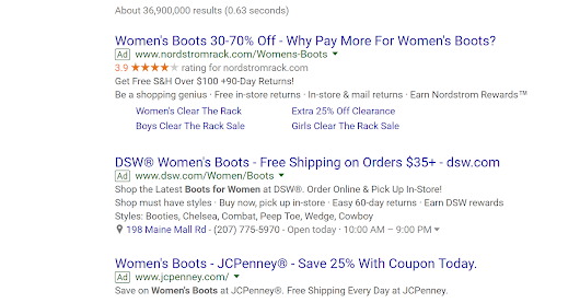 Best Search Ads Practice