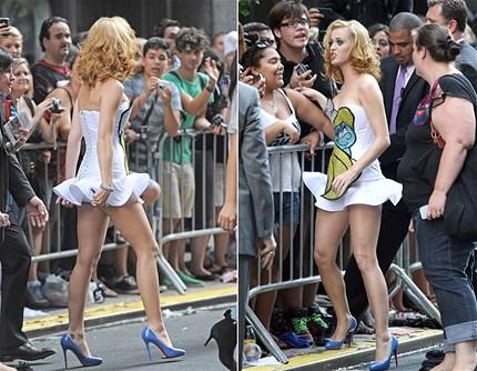 Celebrity stocking feet