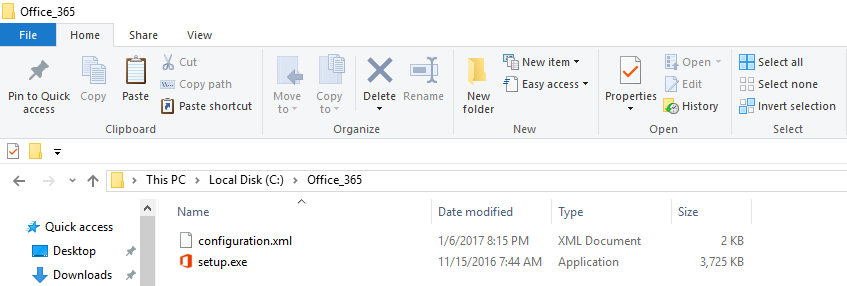 Create an Office 2013, 2016 and 365 Offline Installer ~ Ask