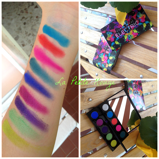 Chaos & Gonzo by Urban Decay's Electric Palette. -   La Petite Rouge