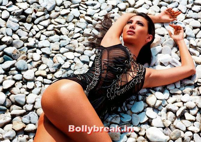 Rochelle Maria Rao, Kingfisher Swimsuit Calendar 2014 Bikini Pics